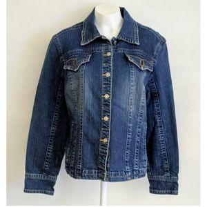 Live a Little Women's Blue Denim Jacket